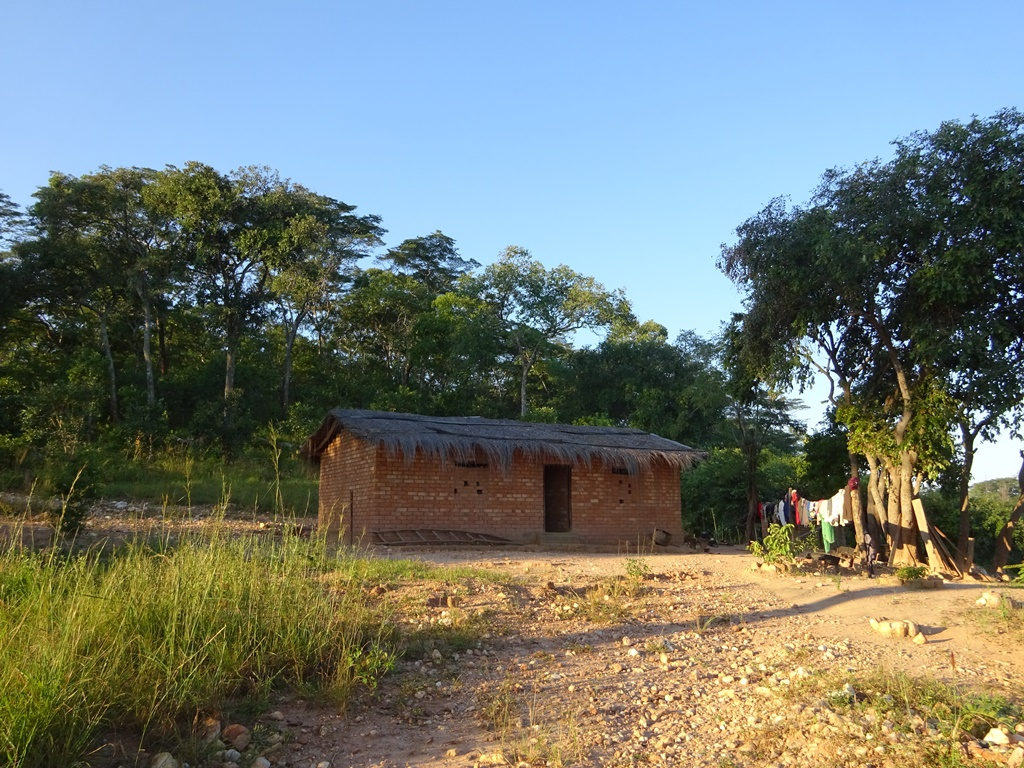 The family home located in the remote village of Chisasila