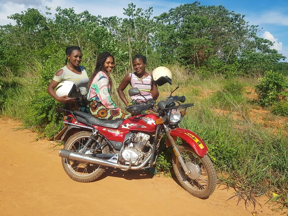 Dorah, Khumbo and Eliza