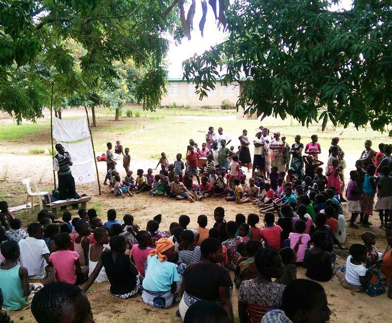 Community demonstration Malawi