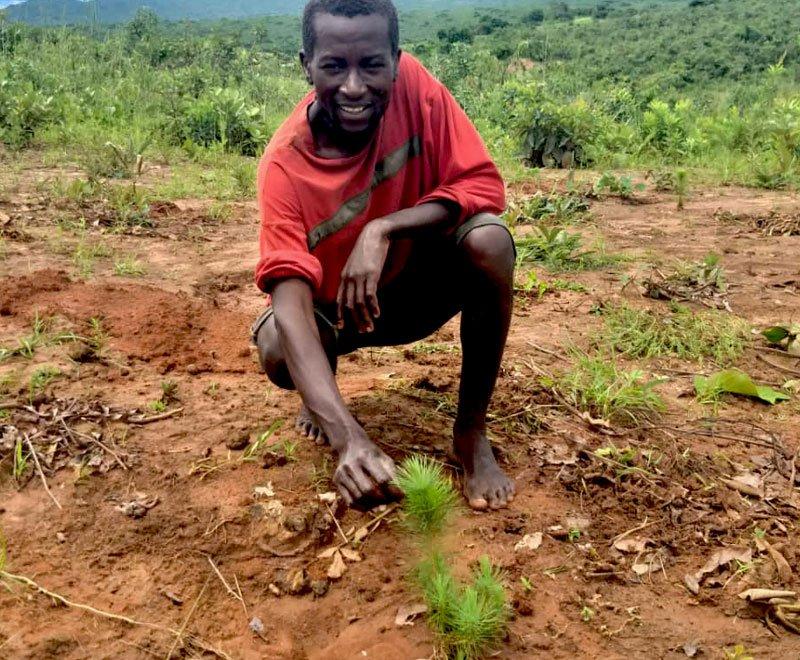 Christopher-tree-planting-farmer-Malawi-Ripple-Africa