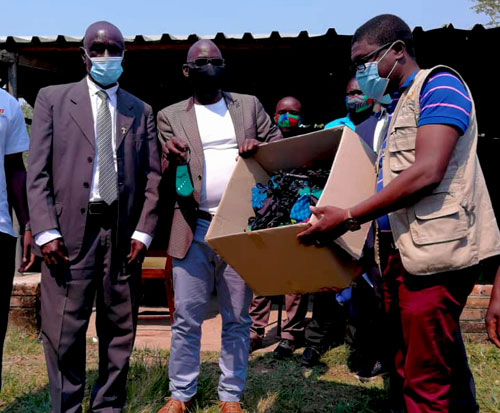 Masks distributed to fish conservation committees
