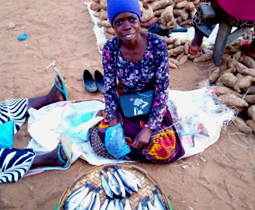 Patuma is passionate about conserving fish for the future in Malawi