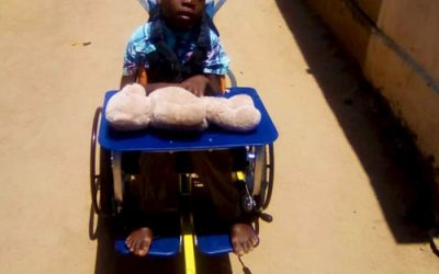 New wheelchairs distributed