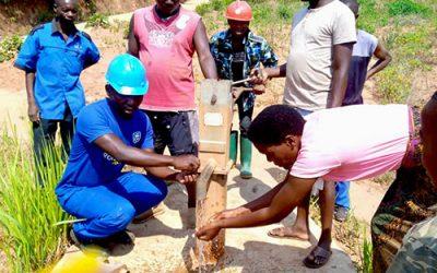 Fixing boreholes