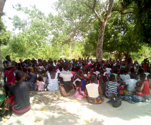 Attendance at an under five clinic in Malawi