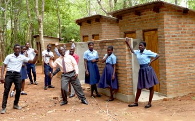New toilets and washrooms