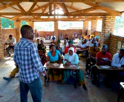 Ripple Africa fish conservation team train beach village committees in Malawi