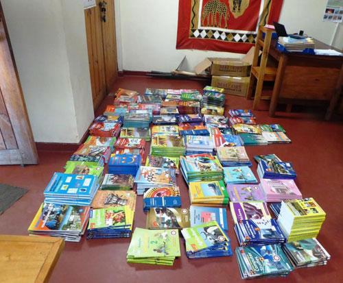 Brand new secondary school textbooks to donate to Kapanda school in Malawi
