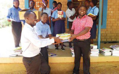 New textbooks for Kapanda