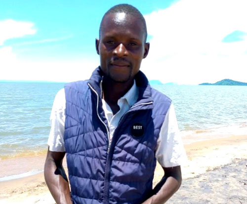 Francis is a fisherman now fishing responsibly in Lake Malawi