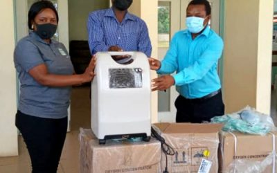 Oxygen concentrators distributed