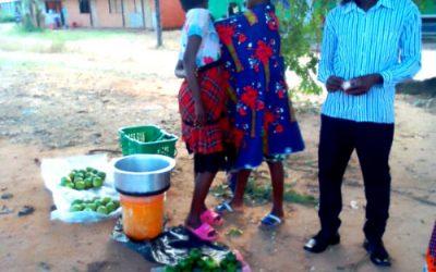 Fruit market in Malawi