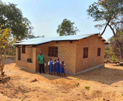 Finished teachers house
