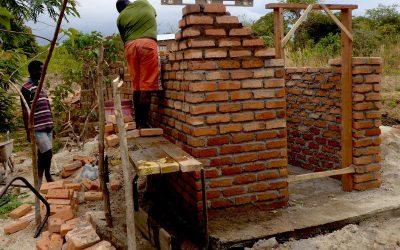 Menstrual Toilets Built