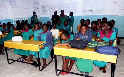 New Desks for Mazembe Primary School