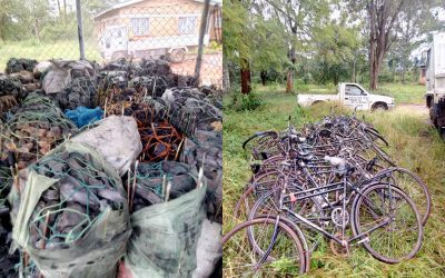 Community effort results in charcoal confiscations