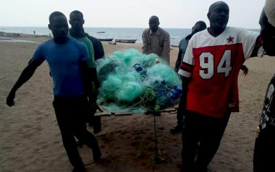 Illegal Fishing Gear Confiscated